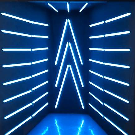 led tunel vogue booth